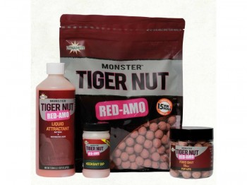 D.BAITS BOILIES 15mm/1kg Red-Amo Monster Tiger Nut