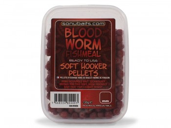 Pellets SONUBAITS 135g 4.0mm Soft Hooker Bloodworm